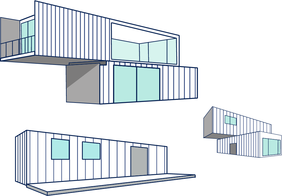 Office Container Storage Home